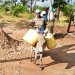 The Water Project: Ndiani Primary School -  Delivering Water For Tank Construction