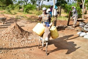 The Water Project:  Delivering Water For Tank Construction