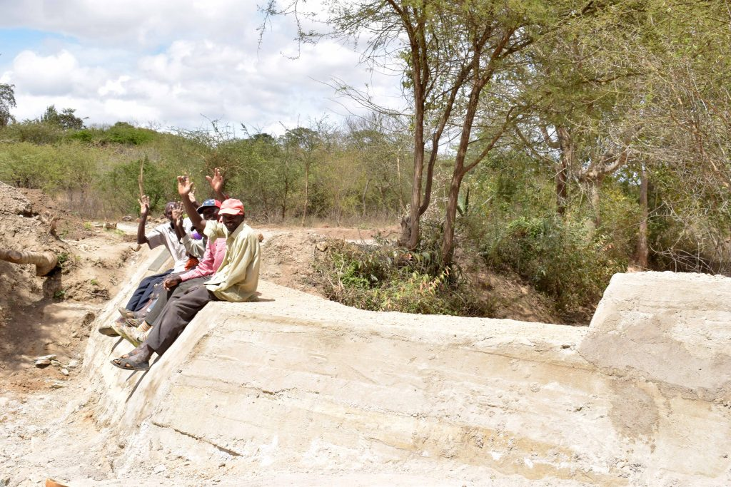 The Water Project : 17-kenya18182-finished-sand-dam-construction