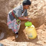 The Water Project: Munyuni Community -  Fetching Dirty Water