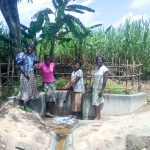 The Water Project: Mukhangu Community, Okumu Spring -  Protected Spring