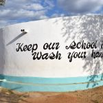 The Water Project: Katuluni Primary School -  Finished Tank