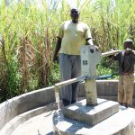 The Water Project: Elukho Community A -  Successful Pump Installation