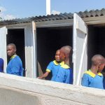 The Water Project: Emukangu Primary School, Shibuli -  Finished Latrines