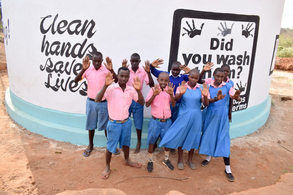The Water Project : 20-kenya18236-happy-students