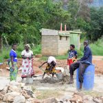 The Water Project: Wee Primary School -  Tank Construction