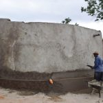 The Water Project: Ndiani Primary School -  Tank Construction