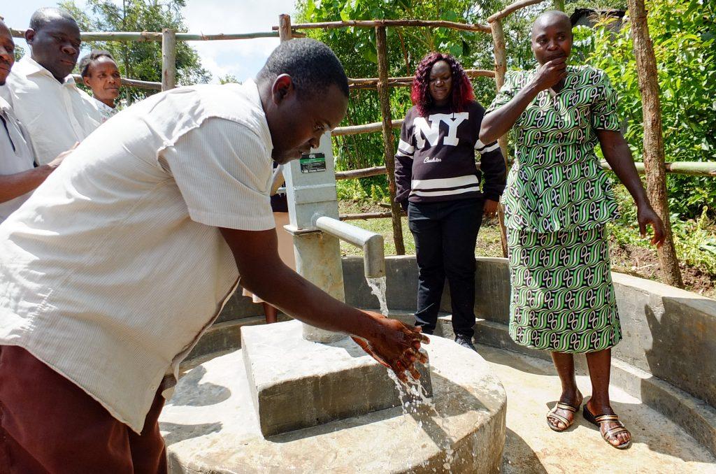 The Water Project : 22-kenya18284-handing-over-ceremony