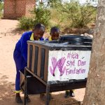 The Water Project: Ndaluni Primary School -  Handwashing Stations
