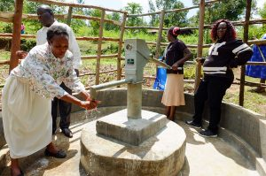 The Water Project:  Handing Over Ceremony