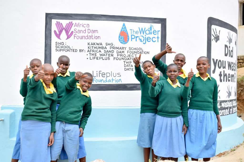 The Water Project : 24-kenya18234-happy-students