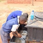 The Water Project: Ndiani Primary School -  Handwashing Stations