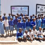 The Water Project: Kyamatula Primary School -  Happy Students