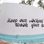 The Water Project: Ndiani Primary School -  Finished Tank
