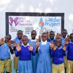 The Water Project: Katalwa Primary School -  Finished Tank