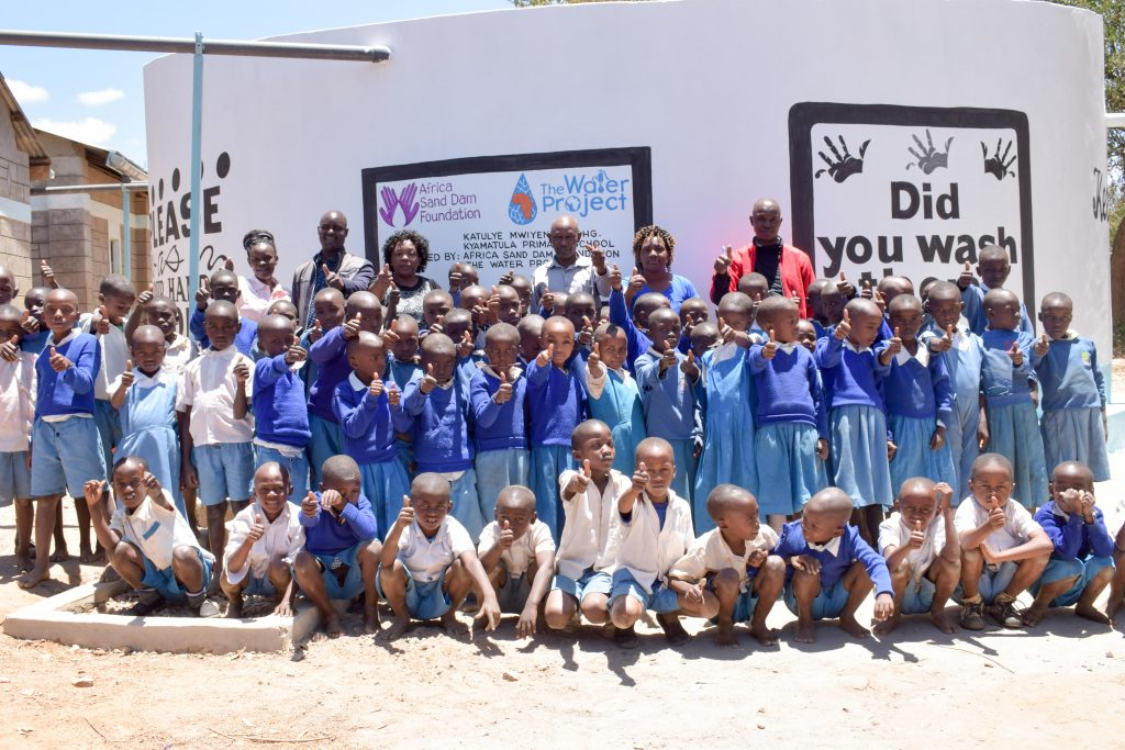 The Water Project : 27-kenya18239-happy-students