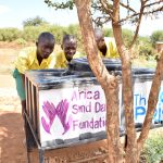 The Water Project: Nzalae Primary School -  Handwashing Stations