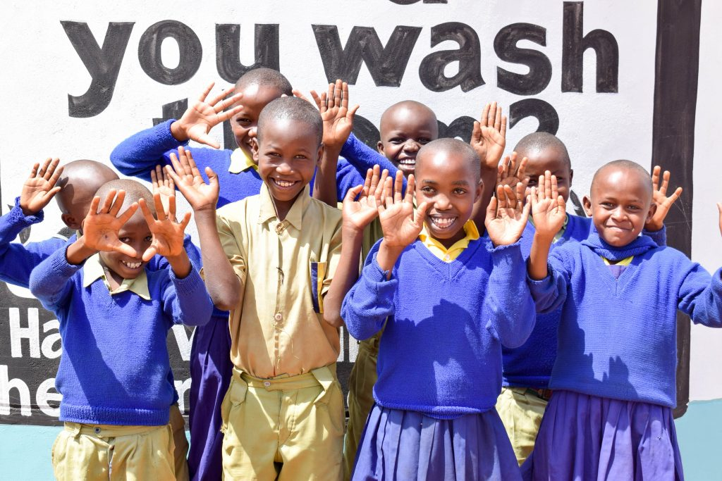 The Water Project : 29-kenya18233-happy-students