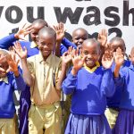 The Water Project: Ndaluni Primary School -  Happy Students