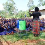 The Water Project: Shina Primary School -  Oral Hygiene Training
