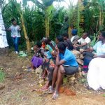 The Water Project: Mukhangu Community, Okumu Spring -  Training