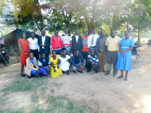The Water Project:  Mukunyuku Primary Staff