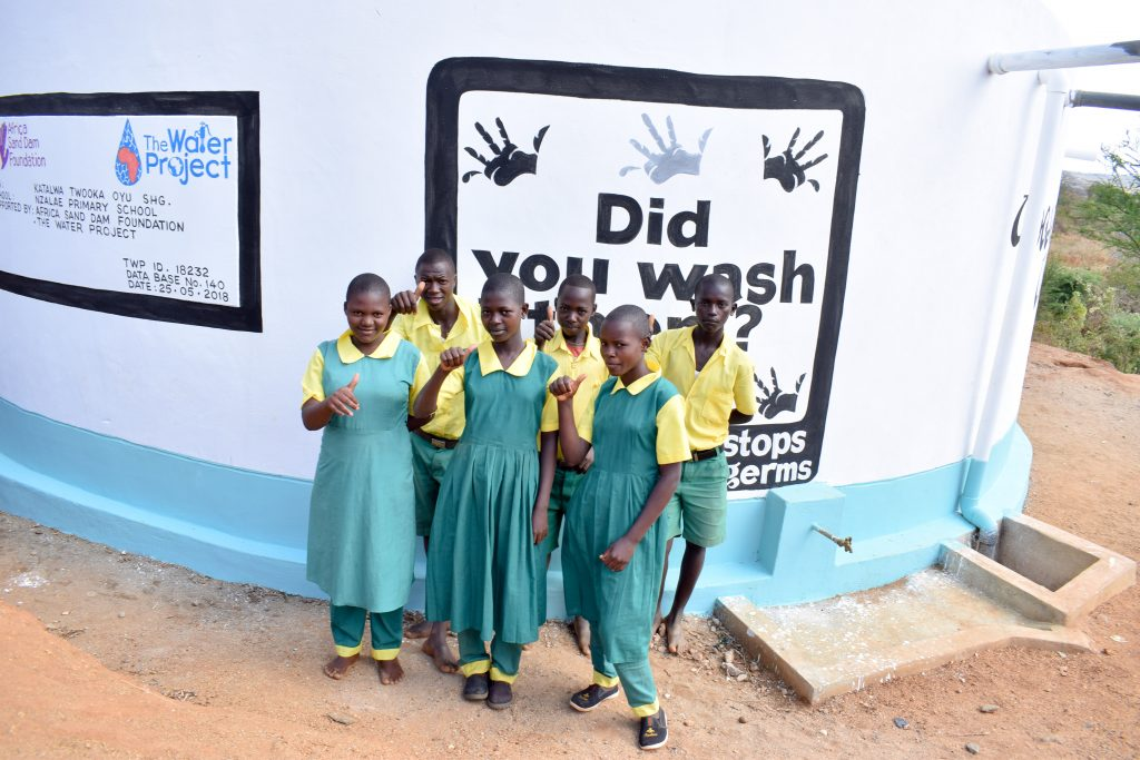 The Water Project : 32-kenya18232-happy-students