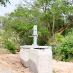 The Water Project: Mbau Community A -  Well Construction