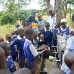 The Water Project: Ndiani Primary School -  Handwashing Training