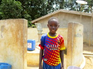 The Water Project:  Ibrahim Kamara