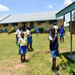 The Water Project: Ikoli Primary School -  Outside The Classrooms