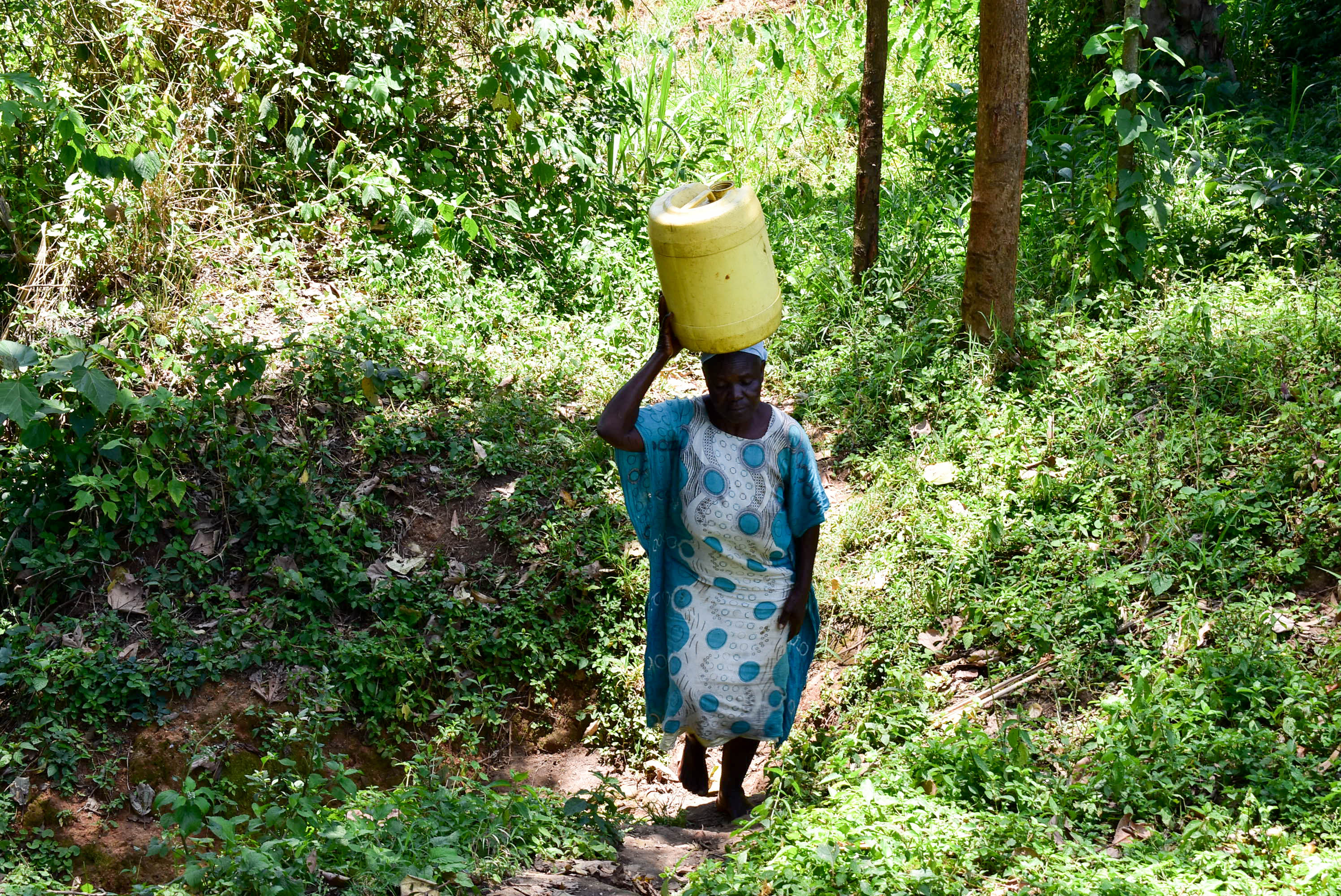 The Water Project : 5-kenya18314-carrying-water
