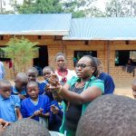 The Water Project: Emukangu Primary School, Shibuli -  Handwashing Training