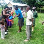 The Water Project: Mukhangu Community, Okumu Spring -  Handwashing Training