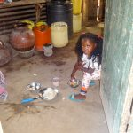 The Water Project: Shitirira Community, Peninah Spring -  Little Girl In The Kitchen