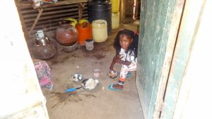 The Water Project:  Little Girl In The Kitchen