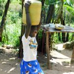 The Water Project: Bukhanga Community, Indangasi Spring -  Carrying Water