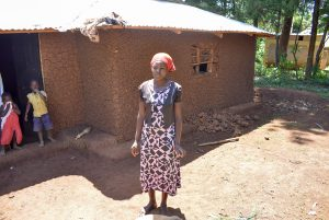 The Water Project:  Jacklie Okhaso At Her Home