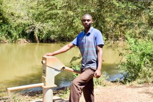 The Water Project:  Francis Kyalo