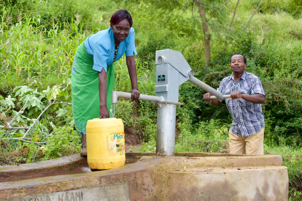 The Water Project : 6-kenya4770-a-year-with-water