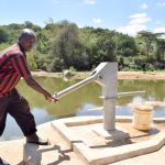 The Water Project: Kasioni Community A -  John Ngumbi