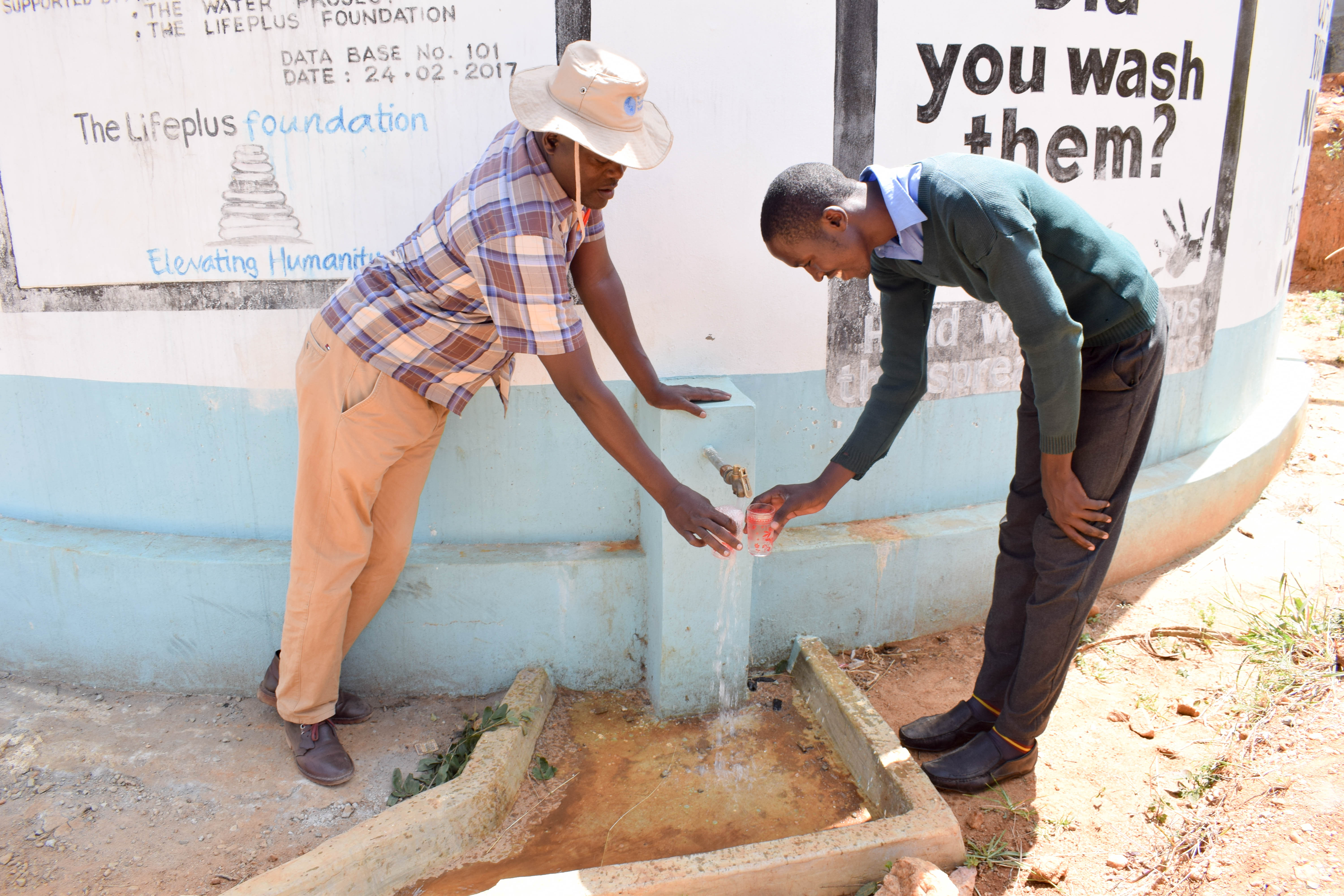 The Water Project : 6-kenya4800-a-year-with-water