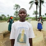 The Water Project: DEC Primary School -  Alusine Sesay