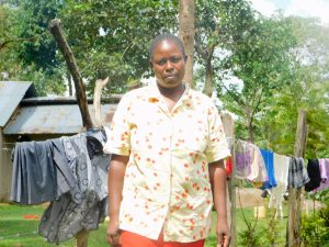 The Water Project:  Violet Ayuma
