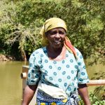 The Water Project: Kithuluni Community A -  Regina Kalekye