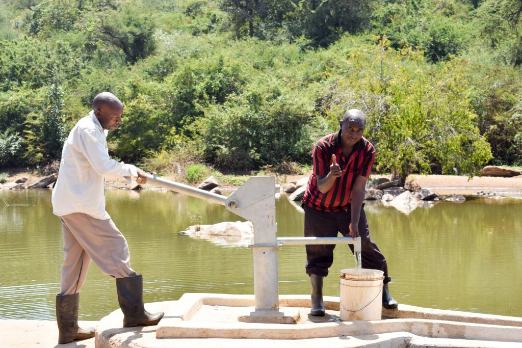 The Water Project : 7-kenya4771-a-year-with-water