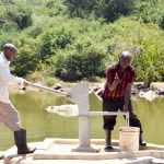 The Water Project: Kasioni Community A -  A Year With Water