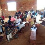 The Water Project: Pakanyi Gwoki Community -  Sanitation Ladder Discussion