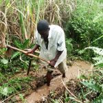 The Water Project: Luvambo Community A -  Digging Drainage And Excavating