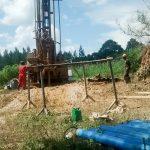 The Water Project: Kyamudikya Community -  Drilling